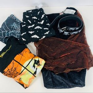 Halloween Bundle Leggings Dress Belt T Shirt S-M